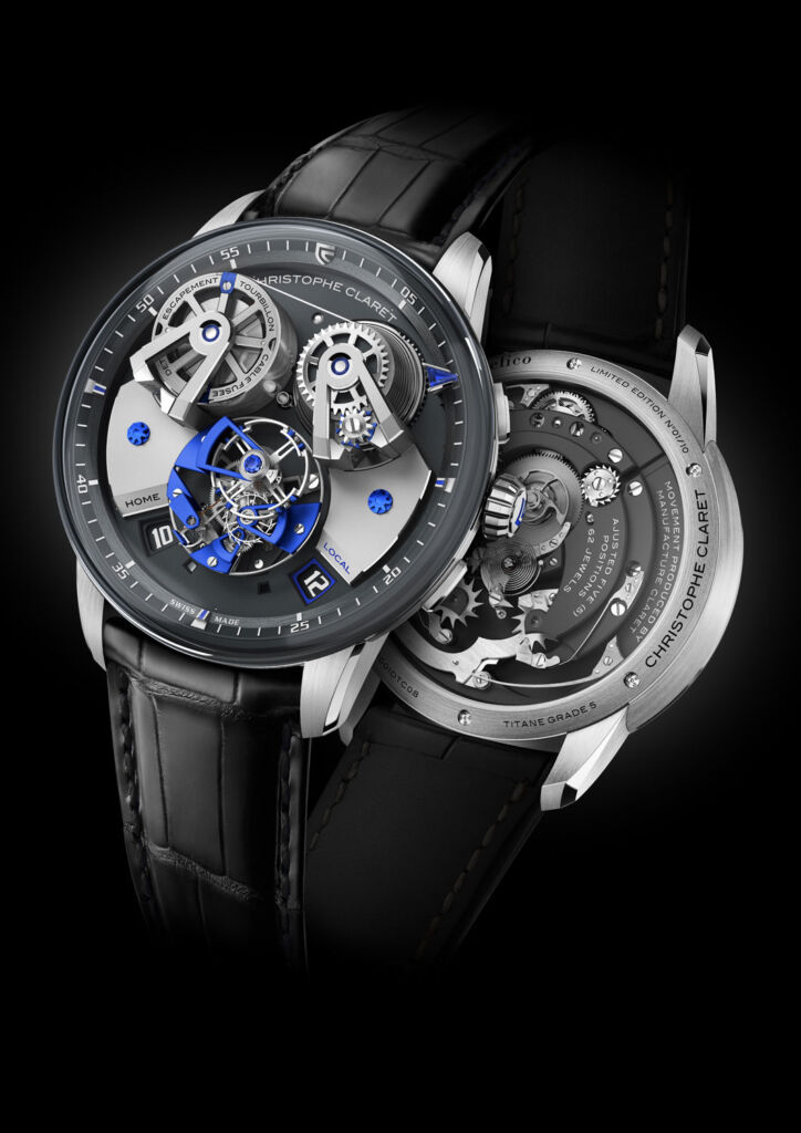 Christophe Claret Unveils A Horological First In The The Angelico Tourbillon 5