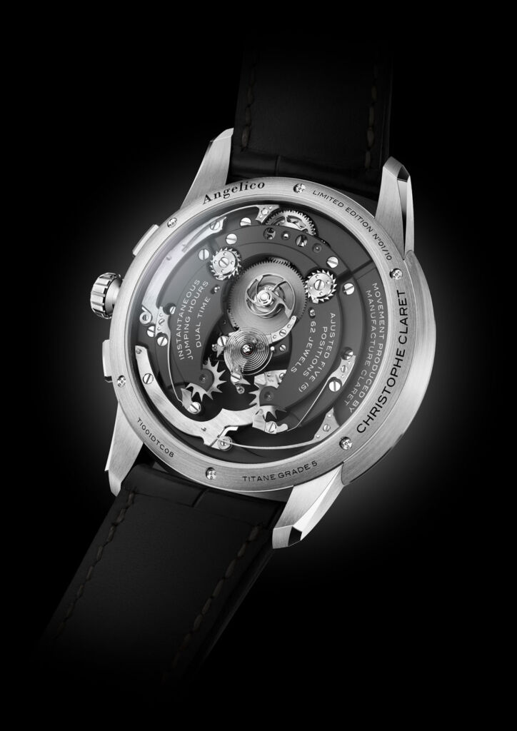 Christophe Claret Unveils A Horological First In The The Angelico Tourbillon 7
