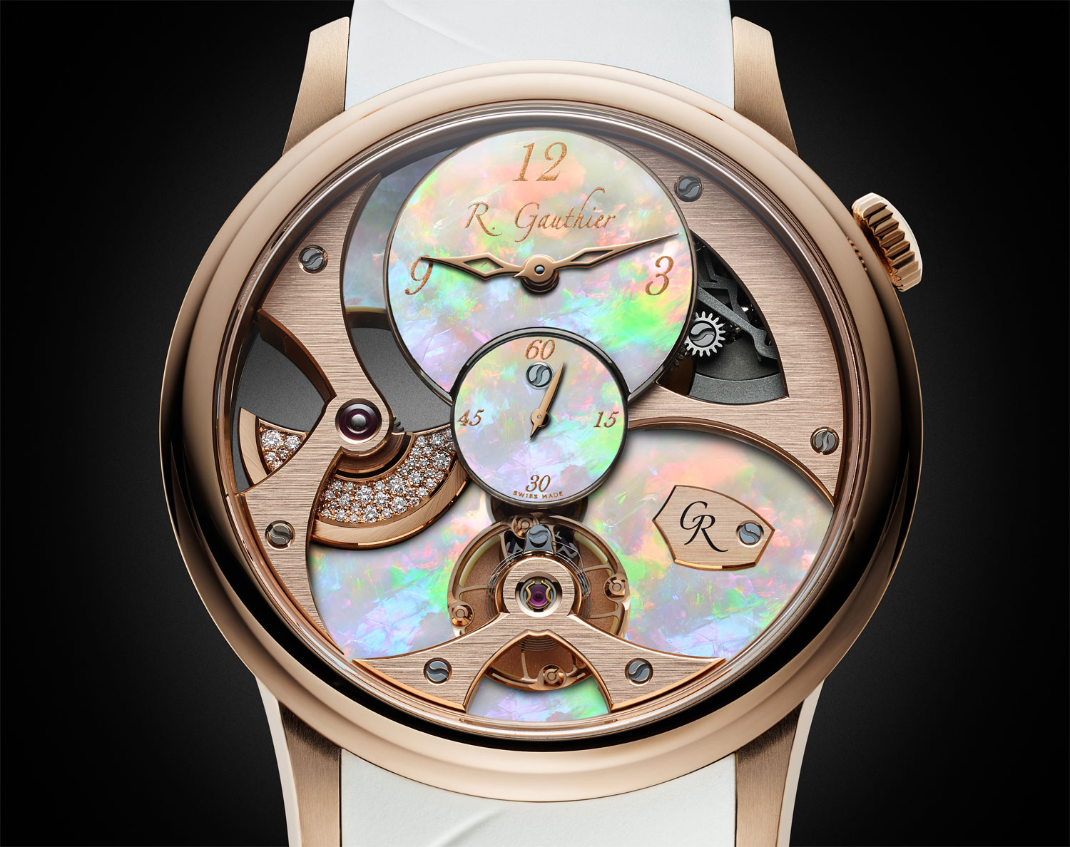 Romain Gauthier's Insight Micro-Rotor Lady Opal