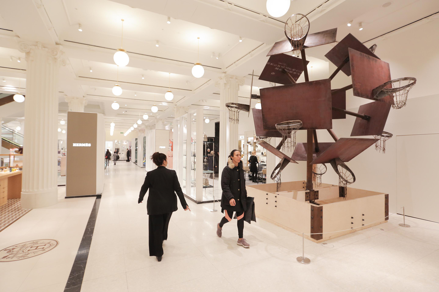 Selfridges, Leading Galleries and Cross Rail To Make Art More Accessible