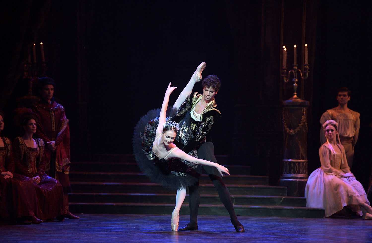 The Story of Swan Lake Shines at London's Coliseum 5