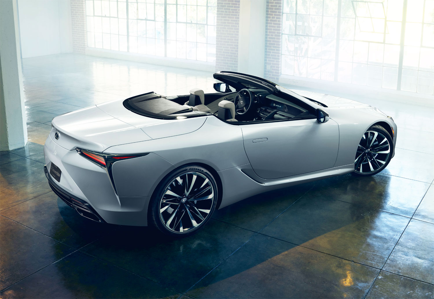 Gorgeous Lexus LC Convertible to Make World Debut in Detroit