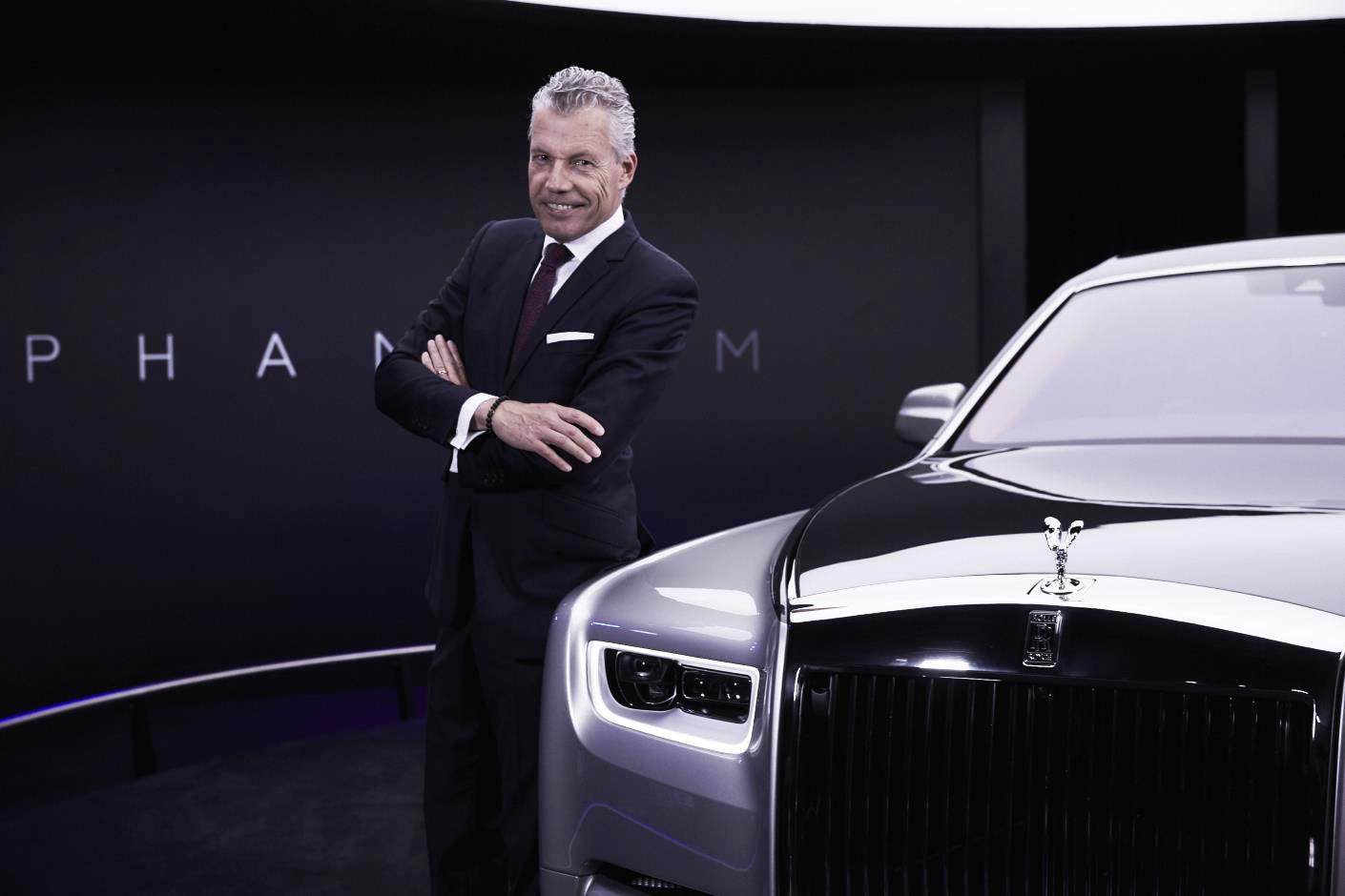 Torsten Müller-Ötvös, CEO, Rolls-Royce Motor Cars
