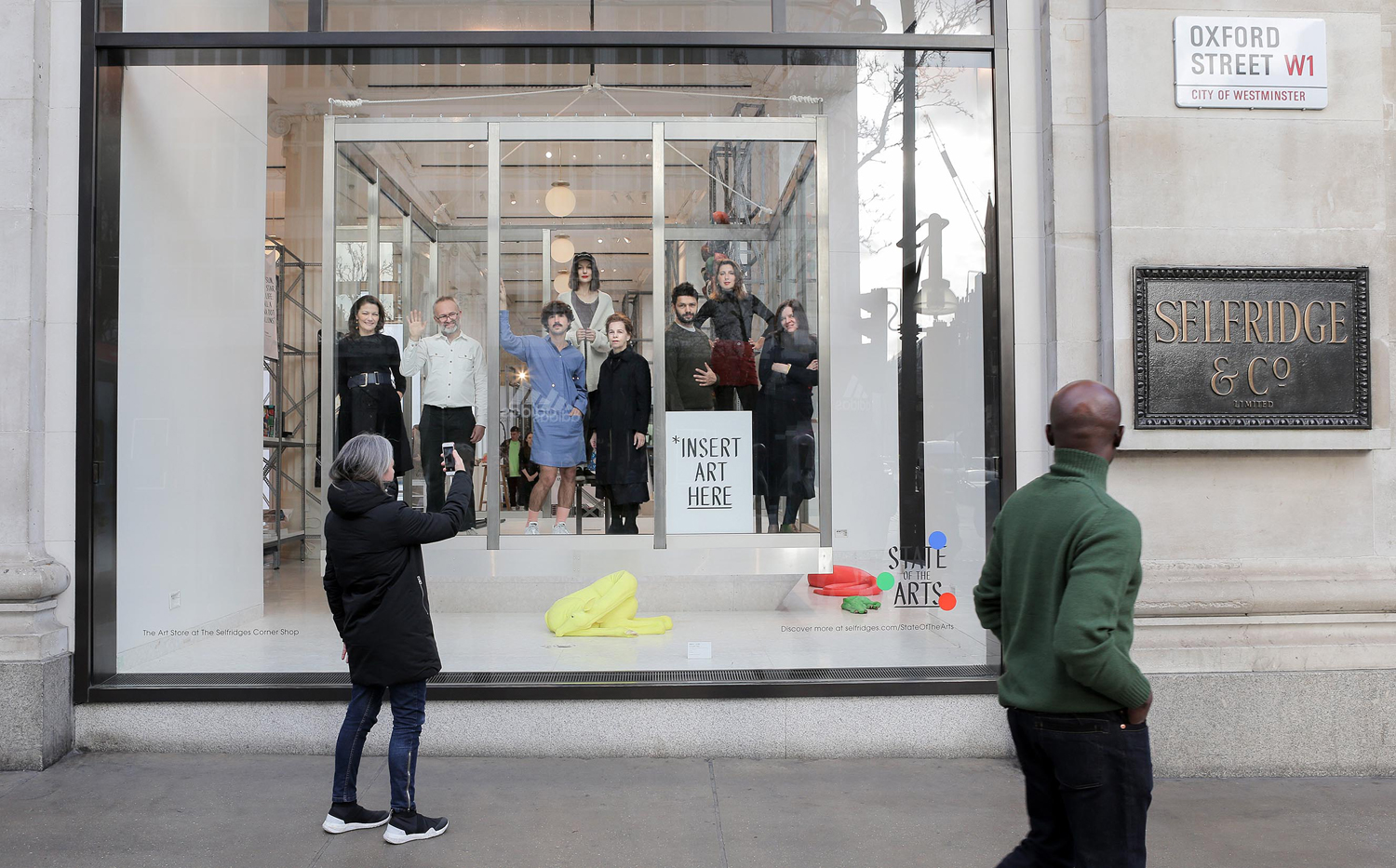 Selfridges, Leading Galleries and Cross Rail To Make Art More Accessible 7