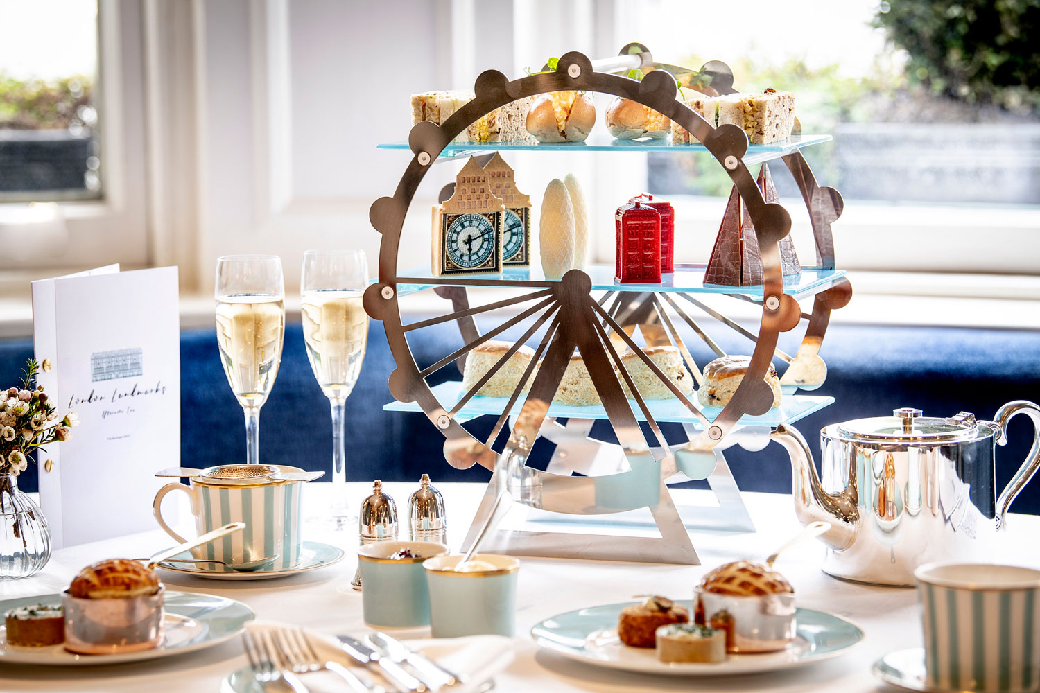Town House At The Kensington Launches London Landmarks Afternoon Tea