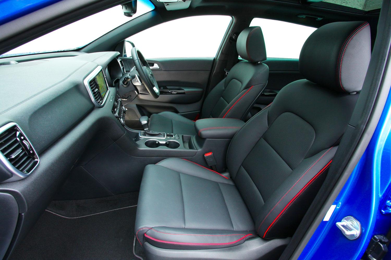 Review: KIA SPORTAGE 'GT-LINE S' 2.0 CRDi 48V 8-speed auto ISG AWD 7