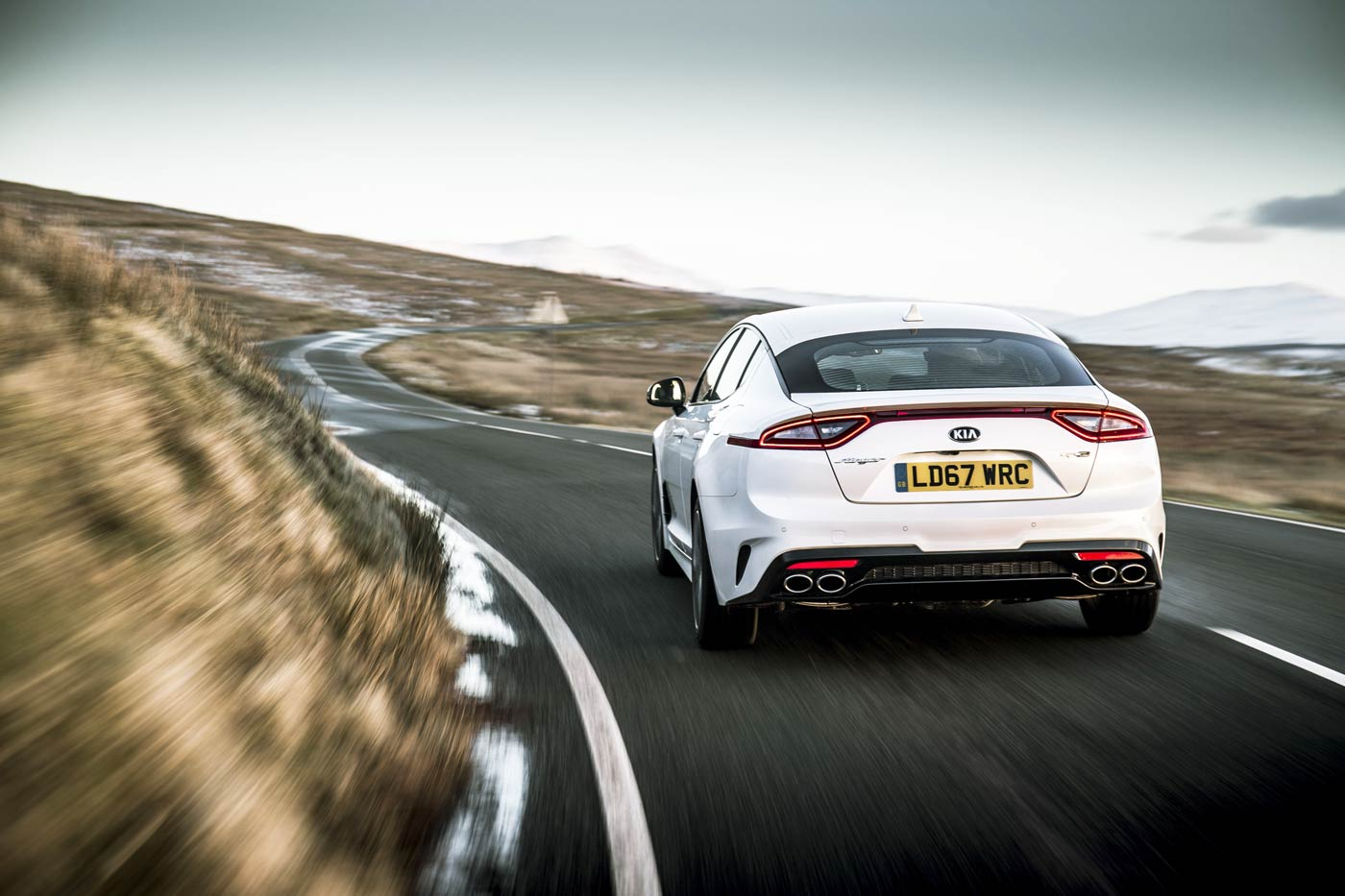 UK Road Test and Review of The KIA Stinger 2.0 T-GDi 'GT-Line' S 4