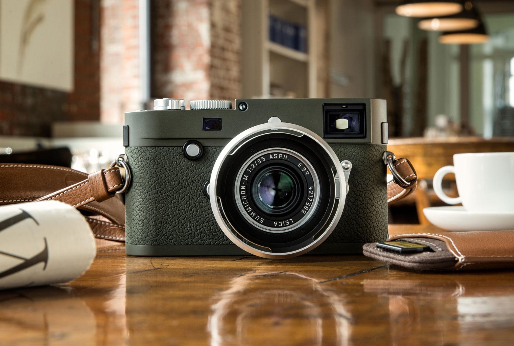 Leica Camera Launch Limited-edition, Olive Green 'Safari' Camera 3