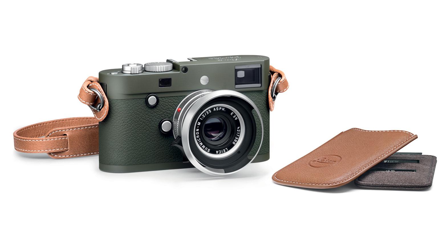 Leica Camera Launch Limited-edition, Olive Green 'Safari' Camera 4