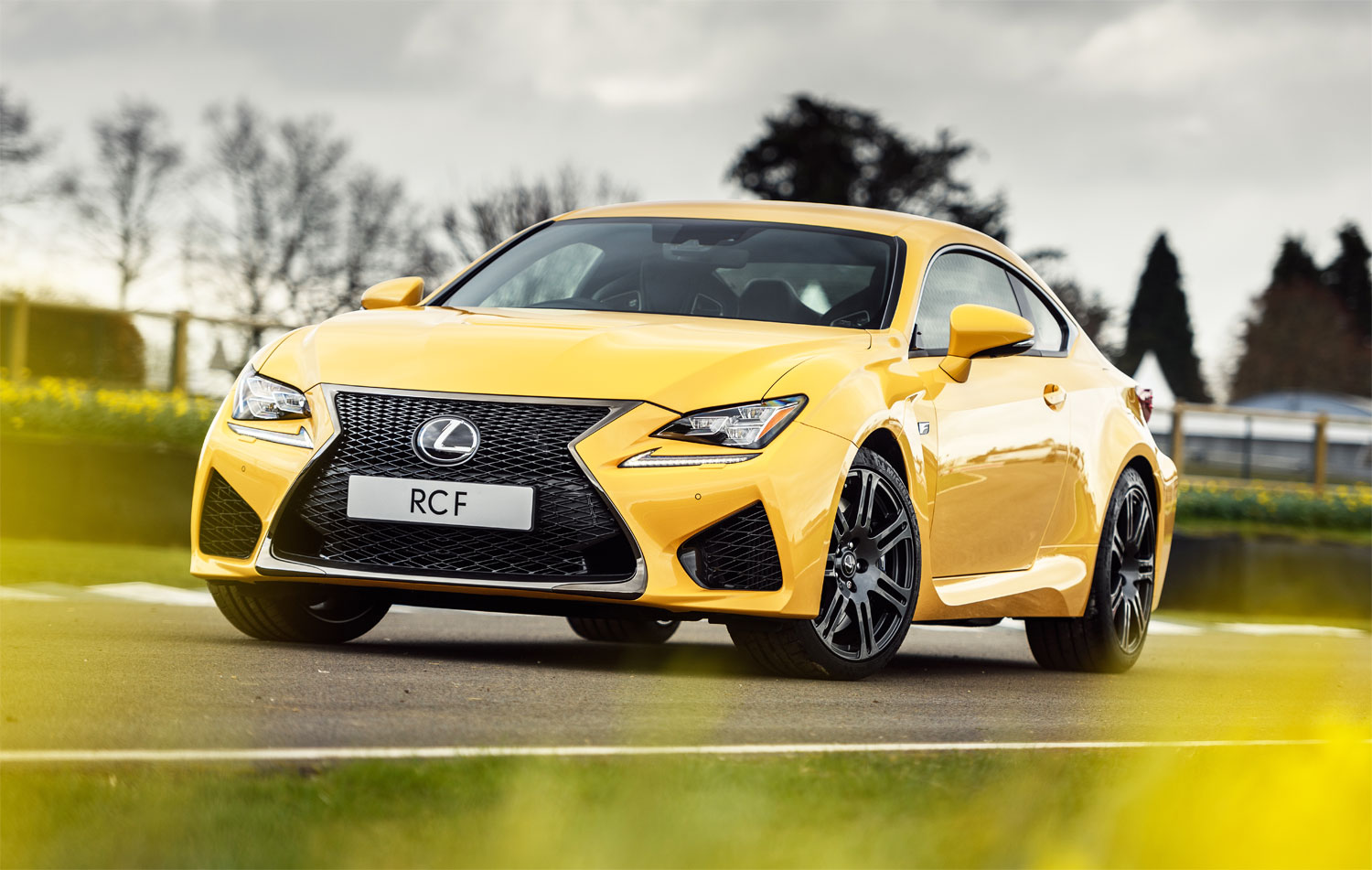 The Lexus RC F Plus Pack