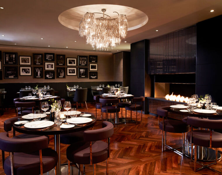 The dining area at POTUS