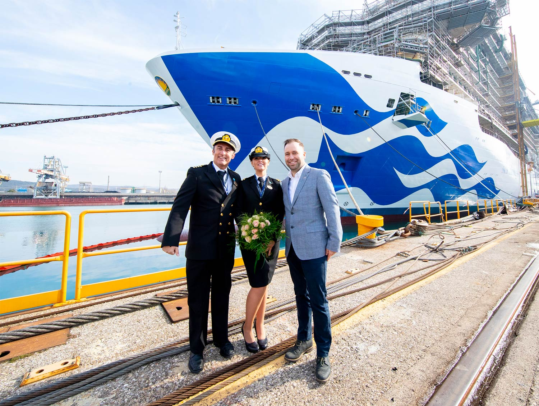 Princess Cruises Celebrates Major Milestones for Three New Ships