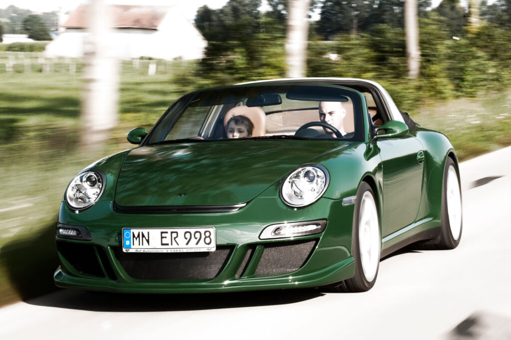 RUF Takes First Production CTR ANNIVERSARY and All-New RUF GT to Geneva 5
