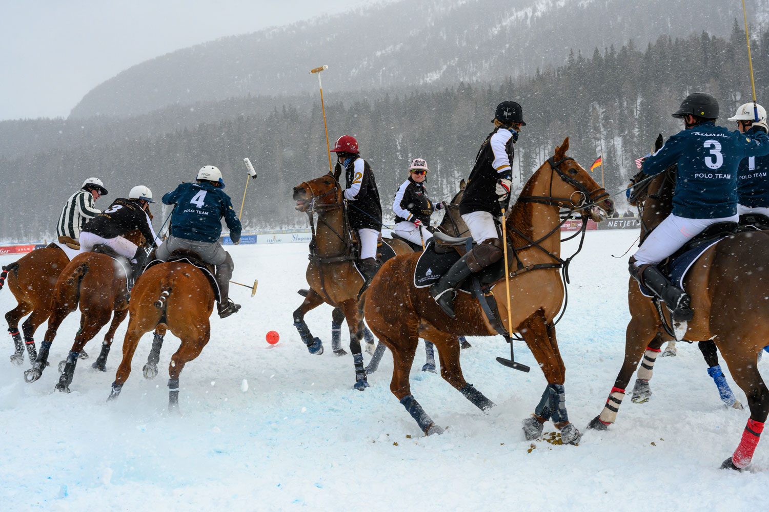 The 35th Snow Polo World Cup St. Moritz Was A Tournament Of Firsts