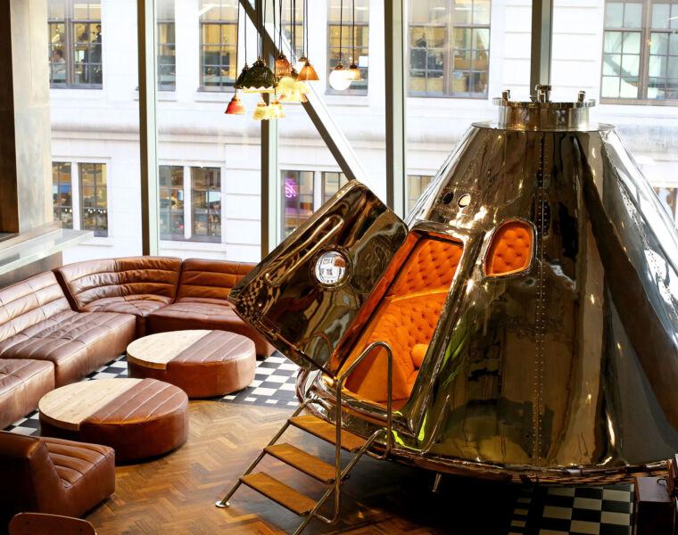 Timothy Oulton's Apollo Lands at Gordon Ramsay's Bread Street Kitchen