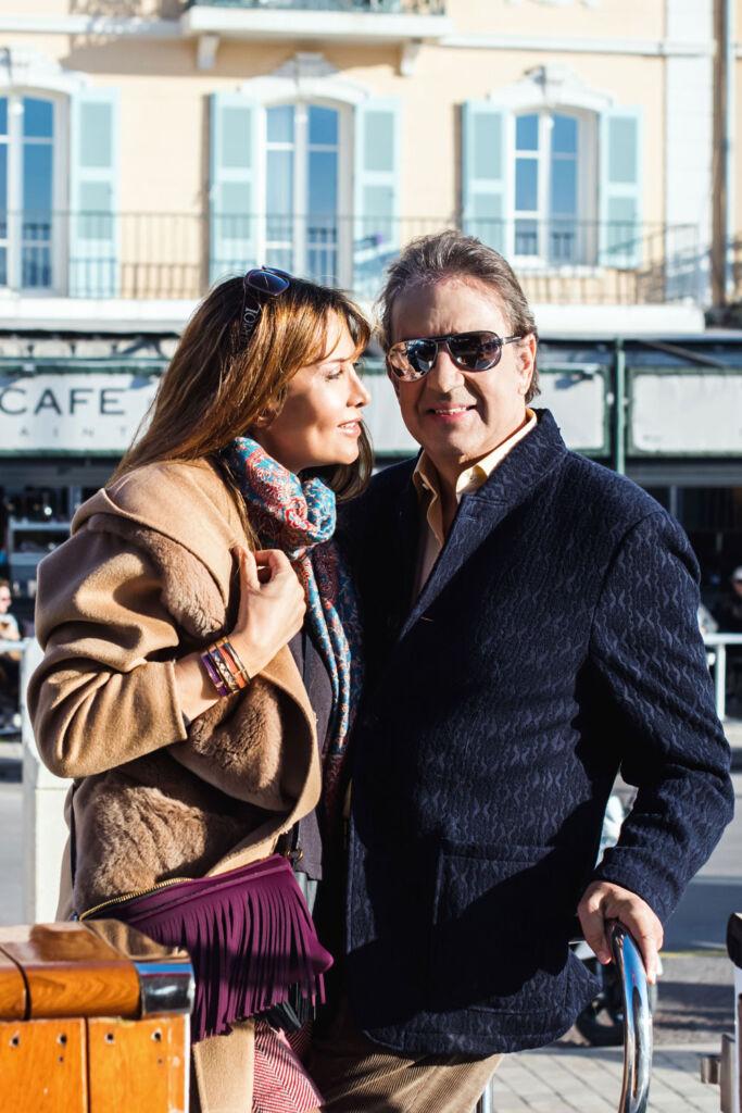 Marie-Olga and Philippe Charriol