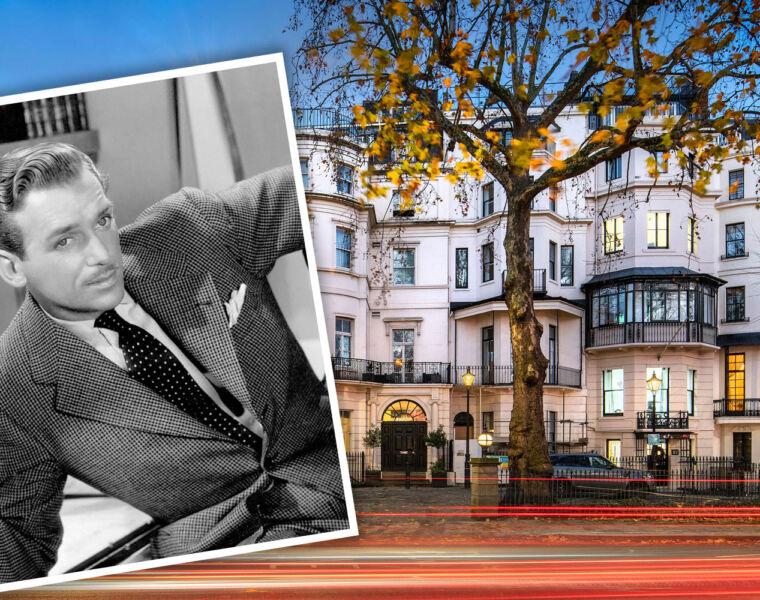 Douglas Fairbanks Jr's former Mayfair residence to let at 99 Park Lane