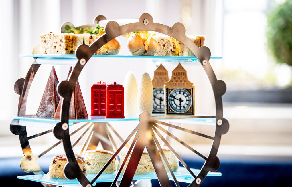 London Landmarks Afternoon Tea is located at Town House at The Kensington