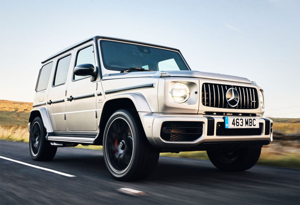 The Mercedes-AMG G 63