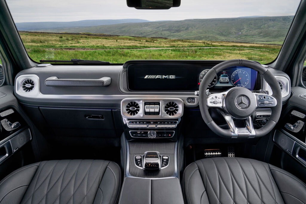 The Mercedes-AMG G 63's interior