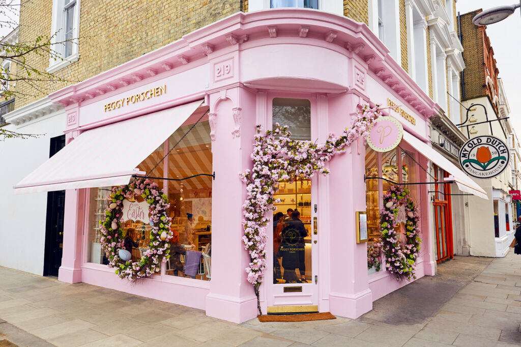 Peggy Porschen new flagship store on Chelsea's Kings Road