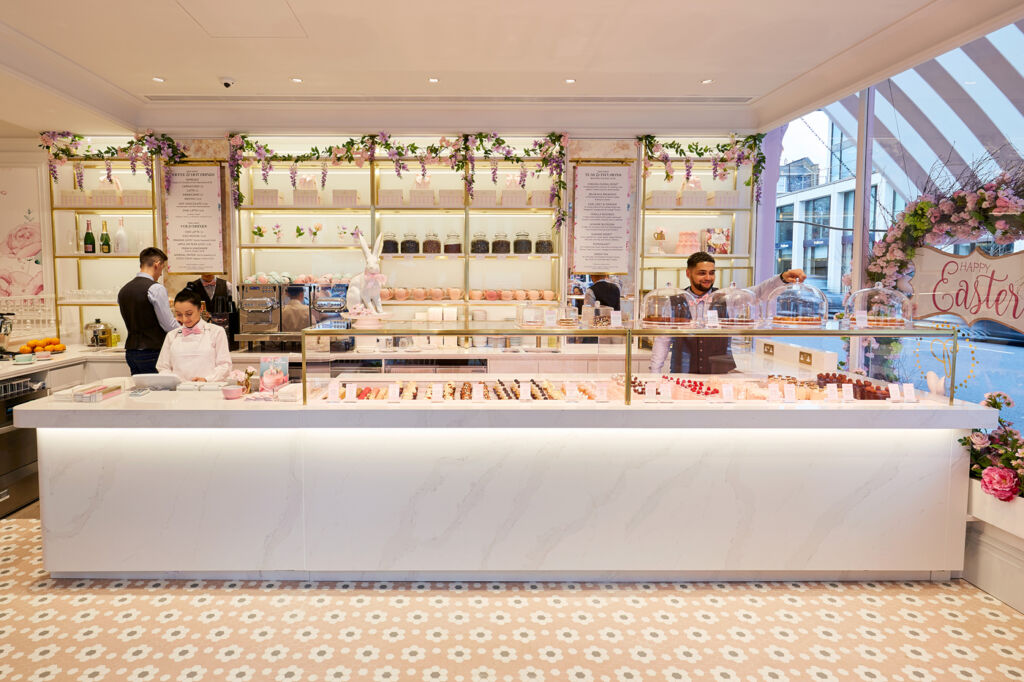 Peggy Porschen Brings Some Extra Prettiness to Chelsea's Kings Road