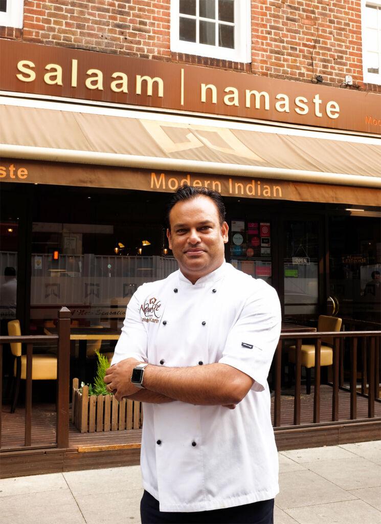 Salaam Namaste Head Chef Sabbir Karim