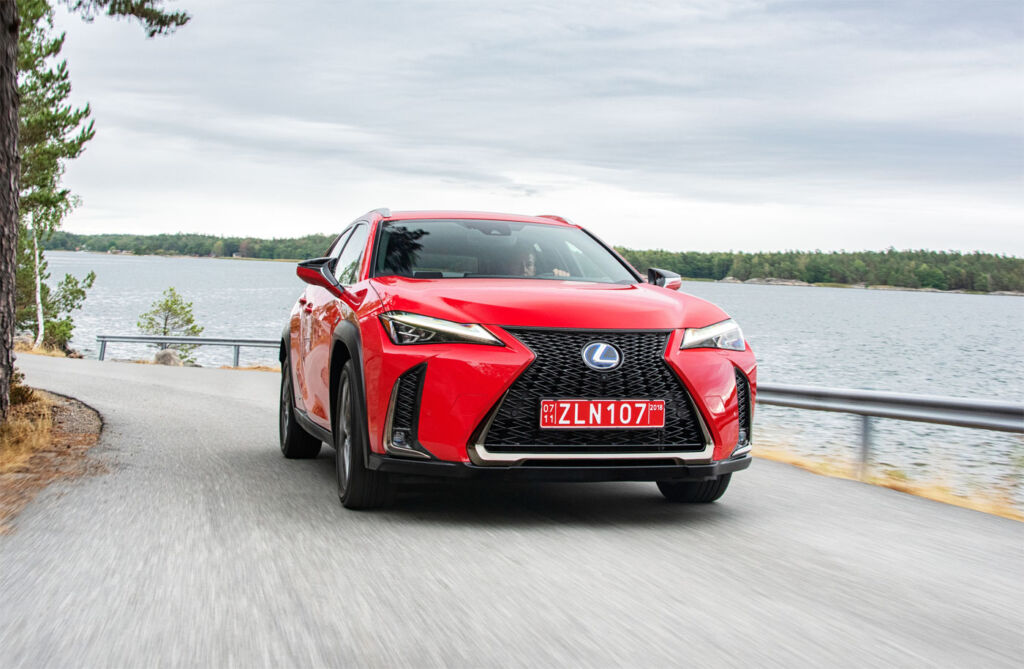 First Drive In Barcelona: The New Lexus UX Compact SUV