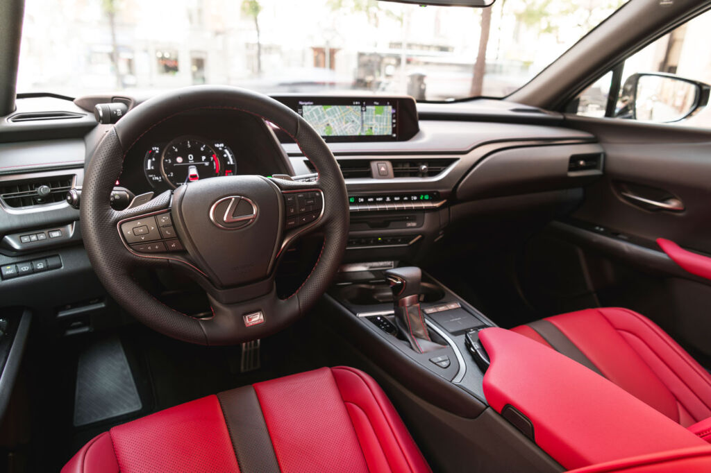 First Drive In Barcelona: The New Lexus UX Compact SUV 5
