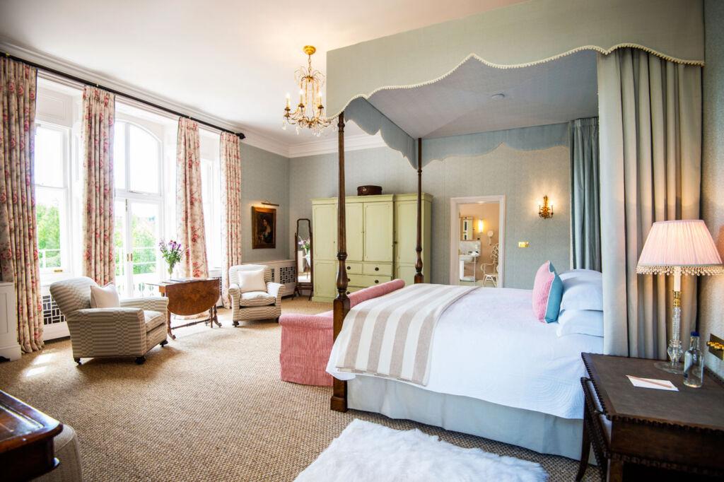 The Elizabeth Taylor Suite at Beaverbrook House.