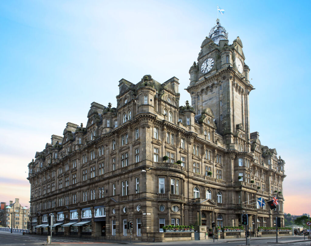 Review of The Balmoral Hotel, Edinburgh, Scotland