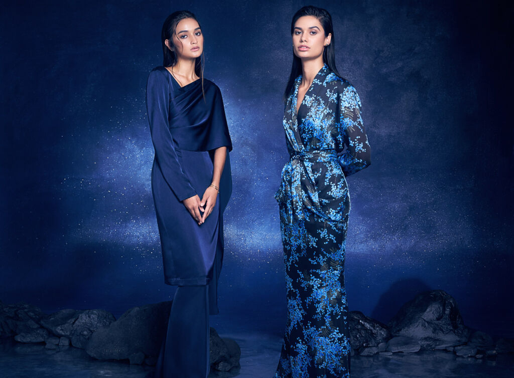 Night Blossoms – Alia Bastamam's Raya 2019 Collection 5