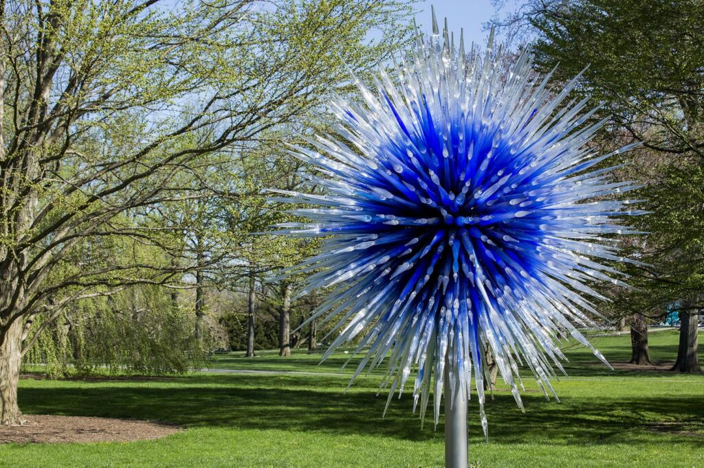 Dale Chihuly's Sapphire Star