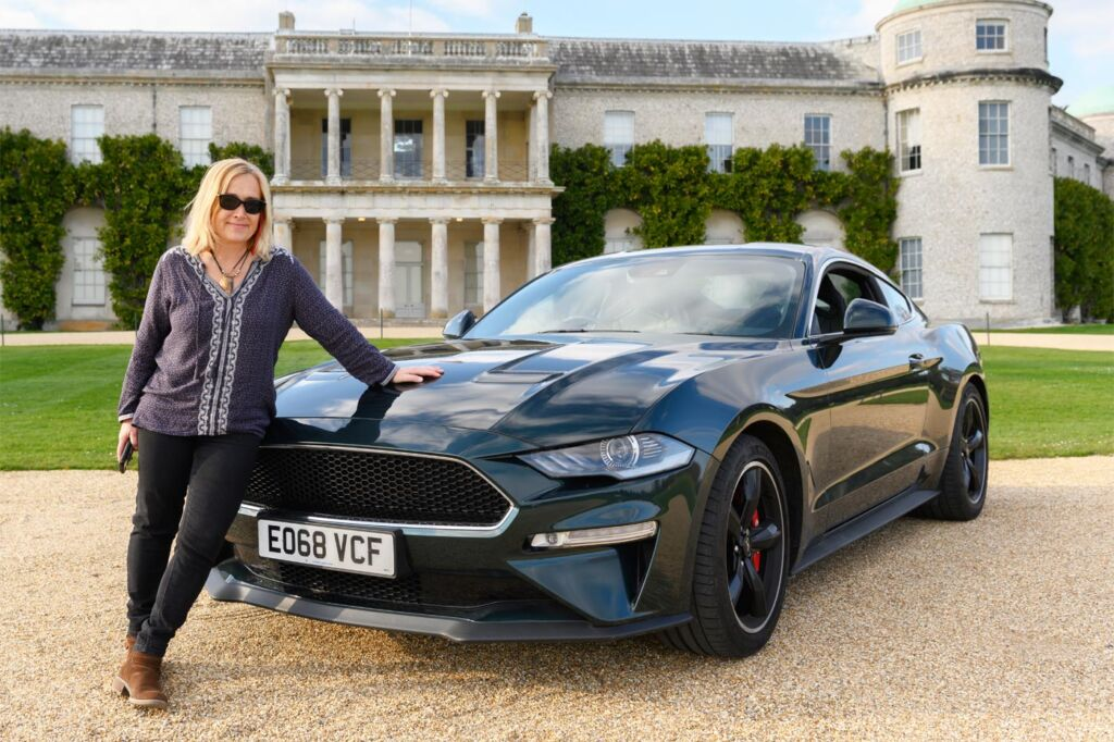 Gina Baksa has the Ride of Her Life Around The Track at Goodwood Motor Circuit 5