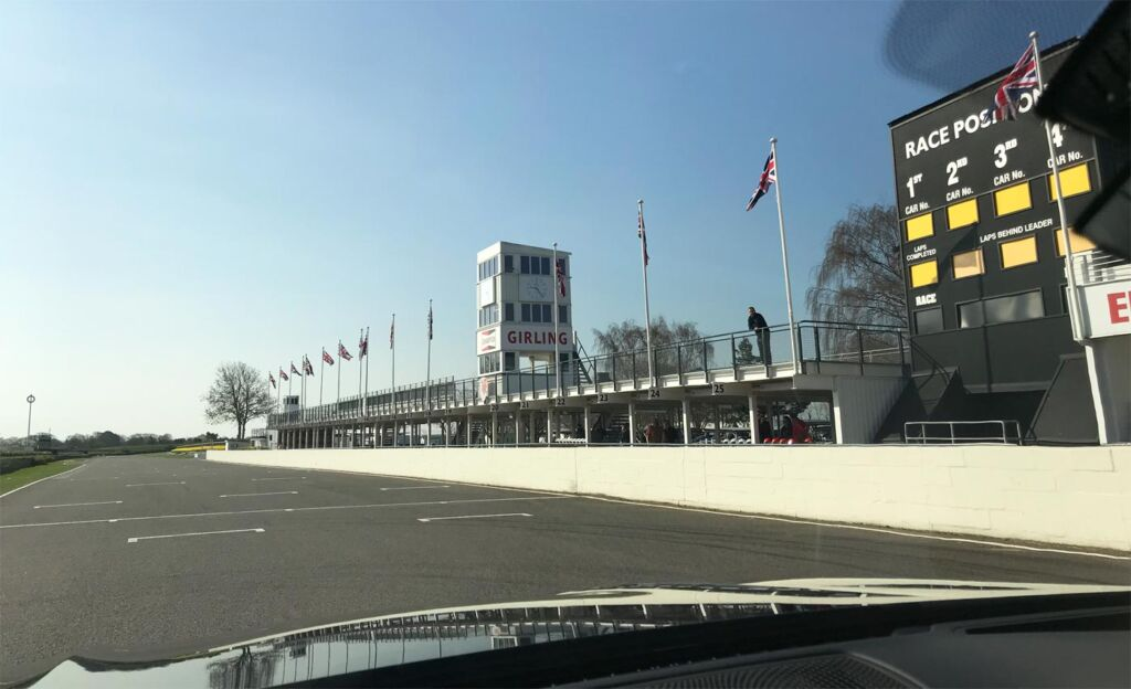 Gina Baksa has the Ride of Her Life Around The Track at Goodwood Motor Circuit 11