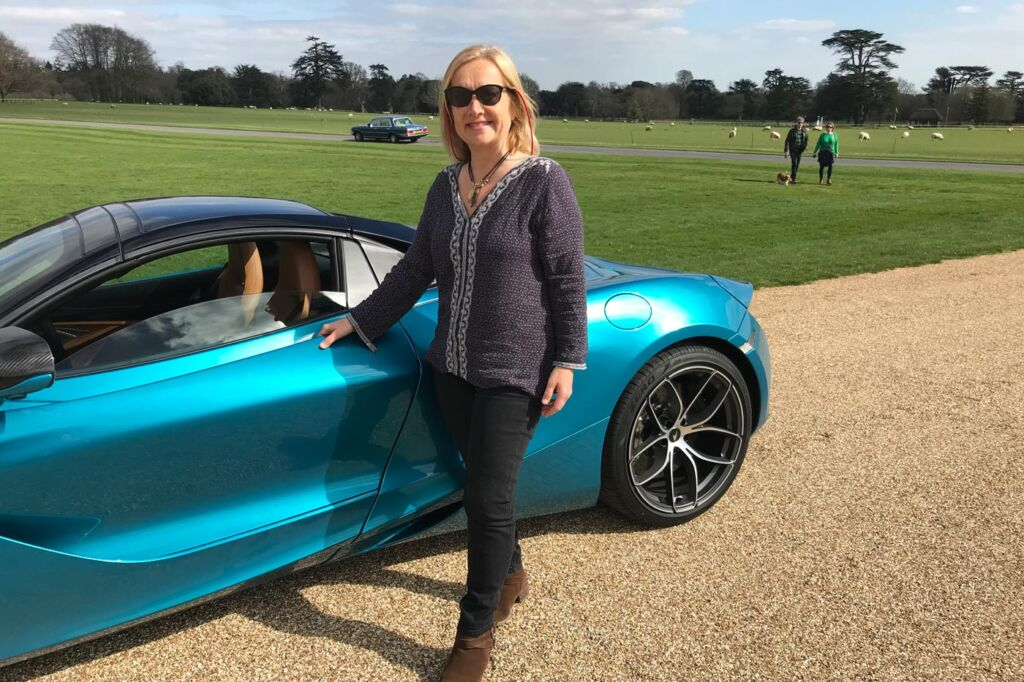 Gina Baksa has the Ride of Her Life Around The Track at Goodwood Motor Circuit 6