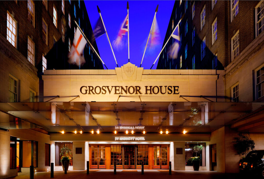 90th anniversary of Grosvenor House Hotel in London