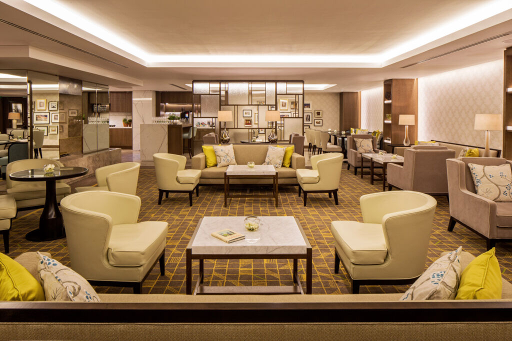 Grosvenor House London executive lounge