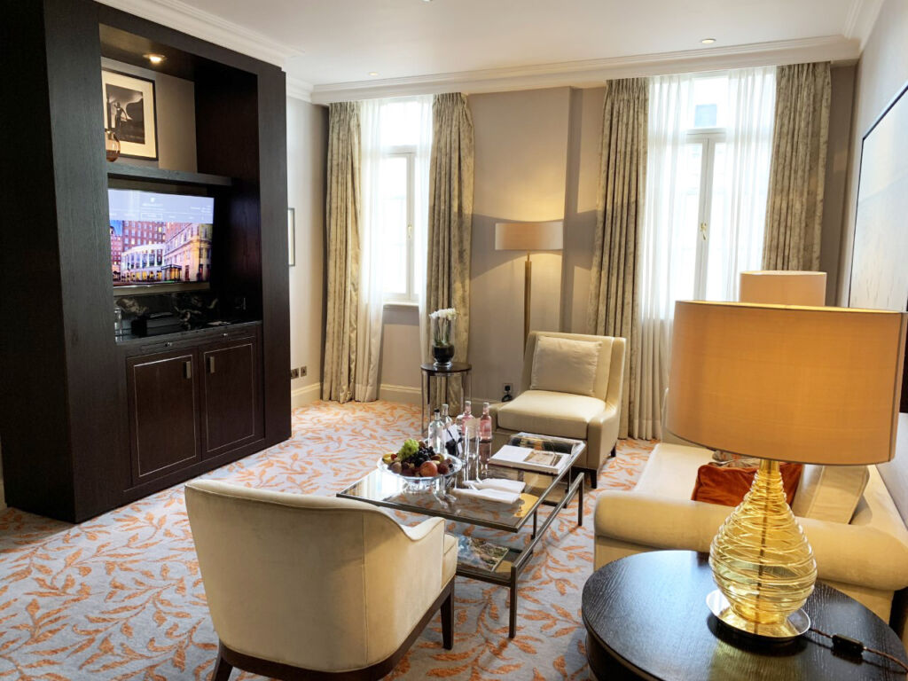 Lounge within an executive suite