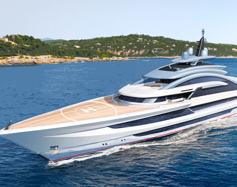 A Glimpse Into The Universe Of Heesen Yachts' Project Cosmos 27