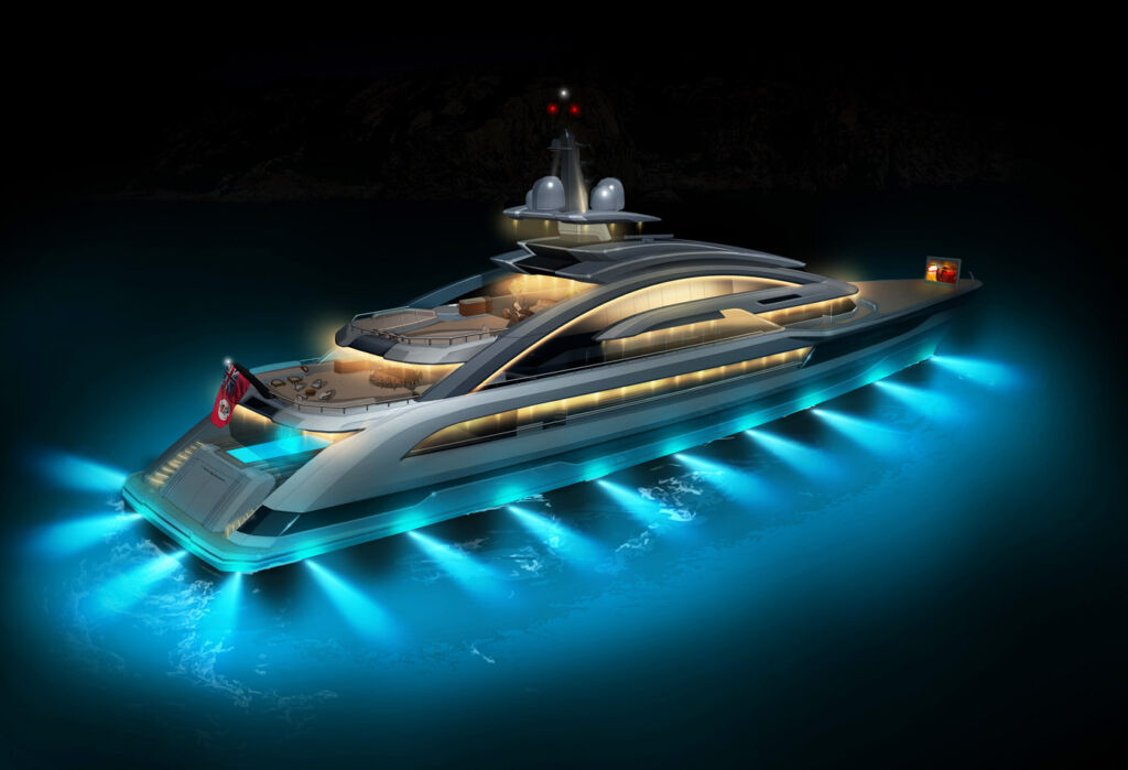 A Glimpse Into The Universe Of Heesen Yachts' Project Cosmos 5