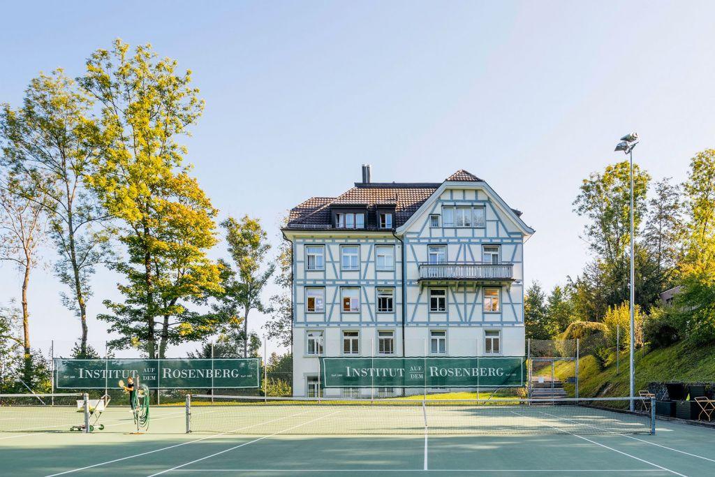 Institut auf dem Rosenberg sporting facilities - tennis courts