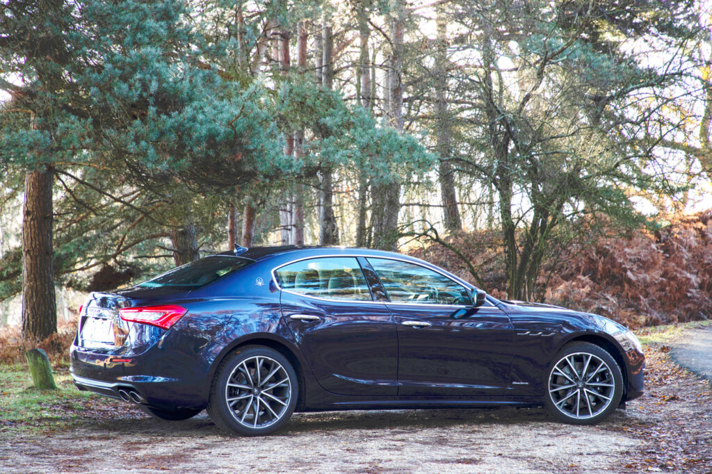 Maserati Ghibli Diesel GranLusso Test Drive and Review 5