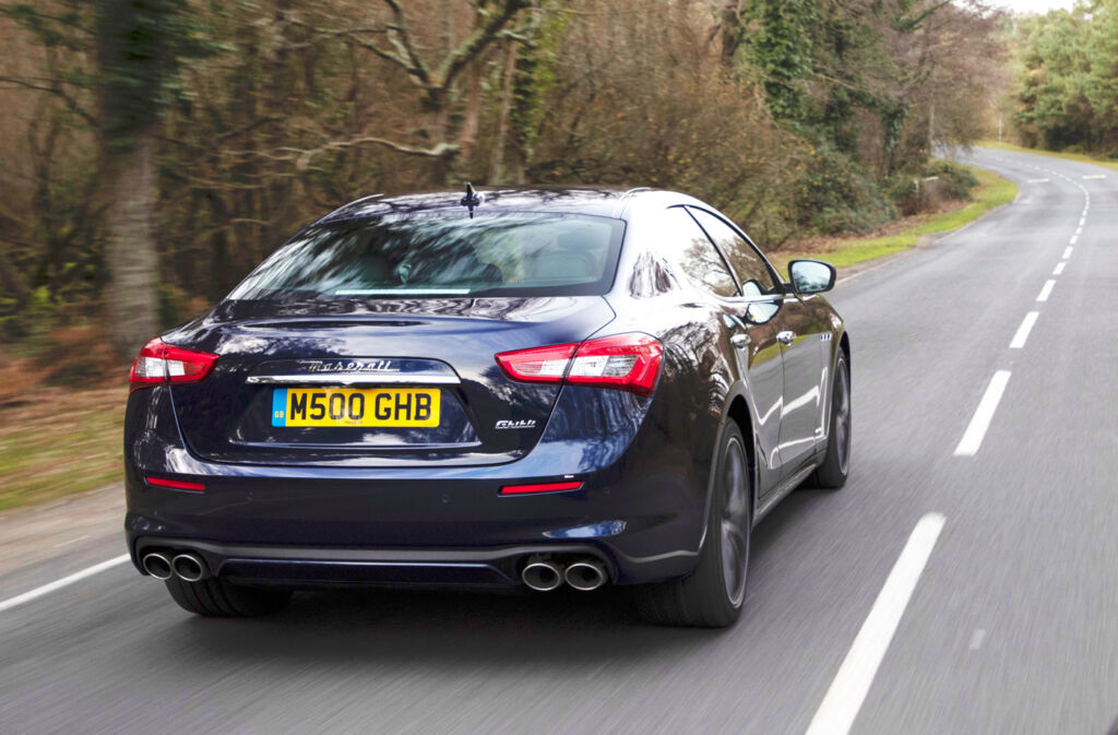 Maserati Ghibli Diesel GranLusso Test Drive and Review 11
