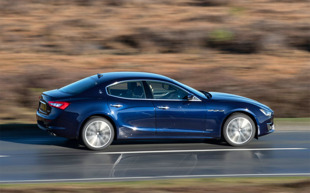 Maserati Ghibli Diesel GranLusso Test Drive and Review 10