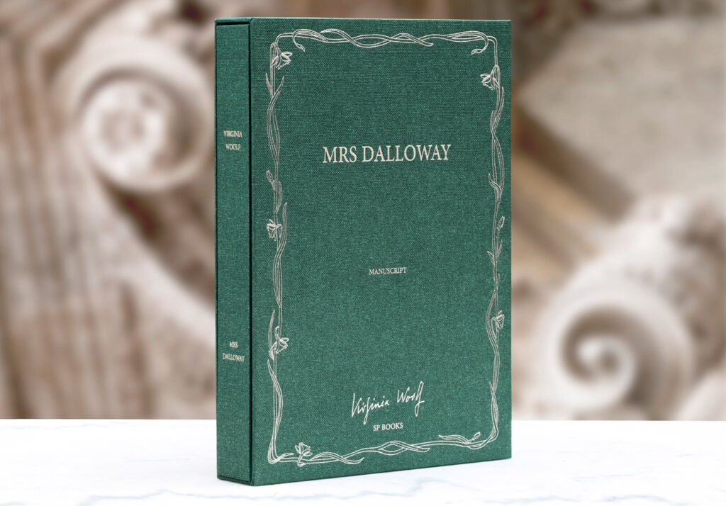 Mrs Dalloway by Parisian publisher SP Books
