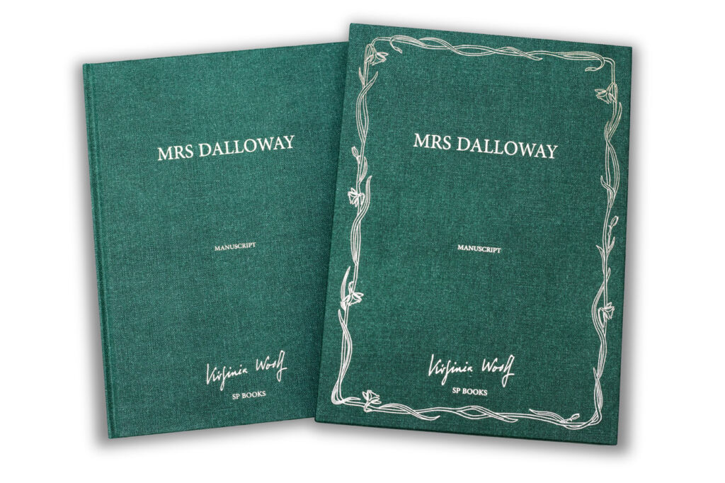 Luxury Editions of Virginia Woolf's Handwritten Manuscript of Mrs Dalloway 6