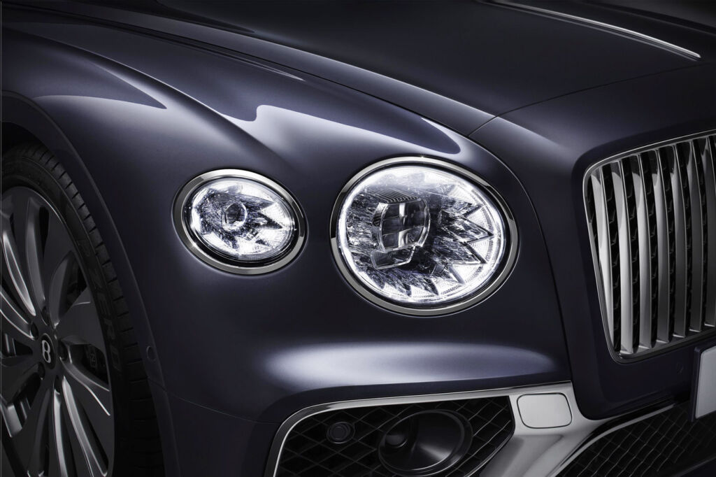 The Newly-Designed Bentley Flying Spur is a Technological Tour de Force