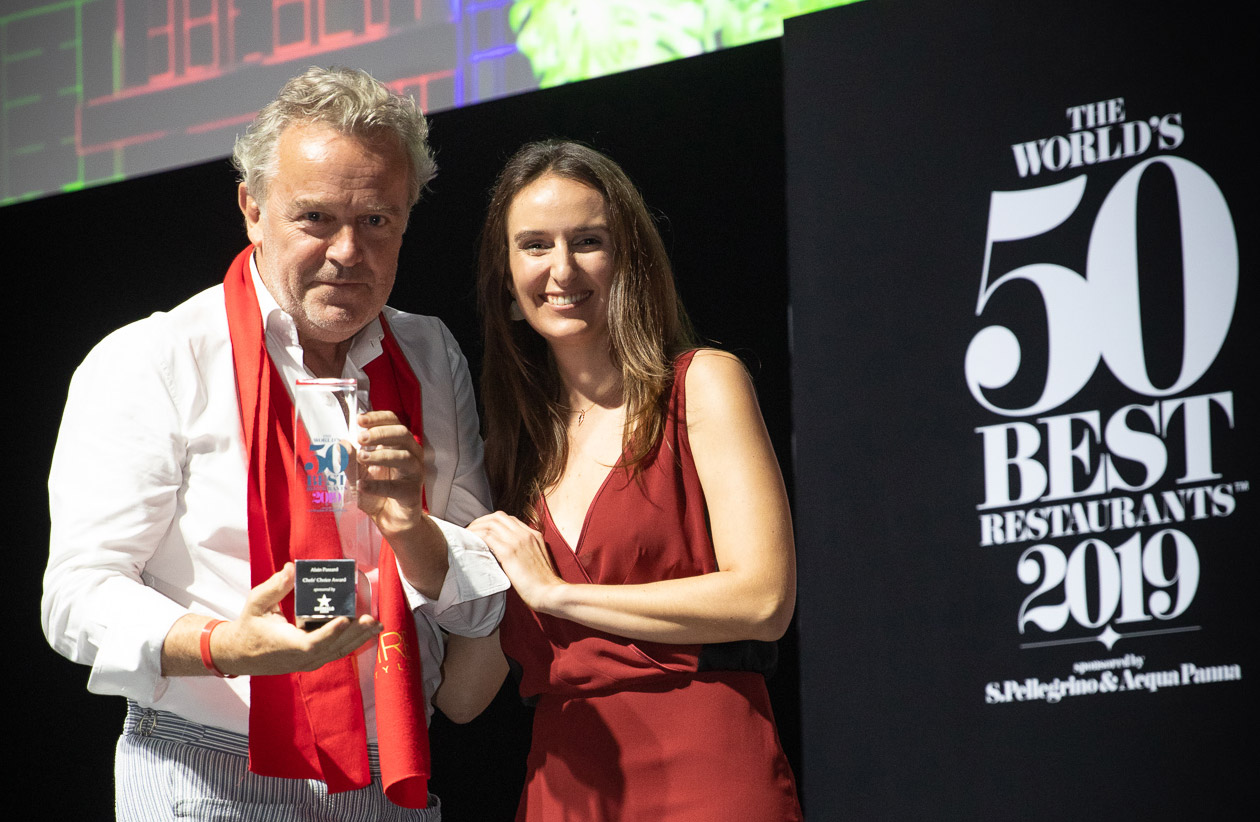 Alain Passard Wins 2019 Chefs' Choice Award