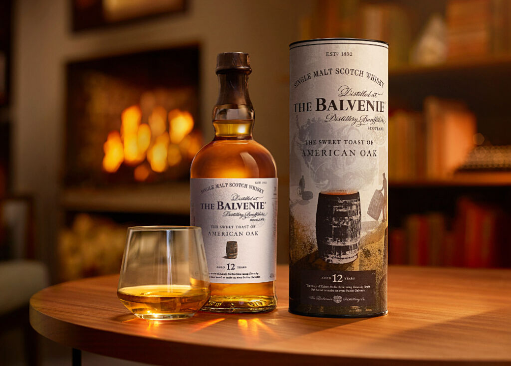 Balvenie A sweet toast of American Oak